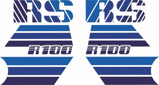 Picture of R 100RS Mono Last Edition 1986-1988 replacement Decals / Stickers
