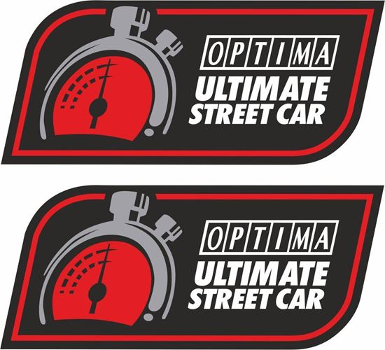 Picture of Optima Ultimate Street Car Decals / Stickers