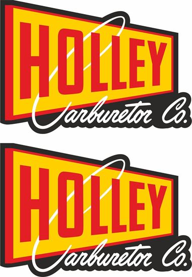 Picture of Holley Carburetor Co  Decals / Stickers