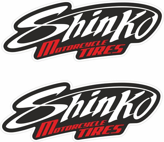 Picture of Shinko Tires Decals / Stickers