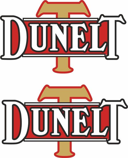 Picture of Dunelt Motorcycle Decals / Stickers