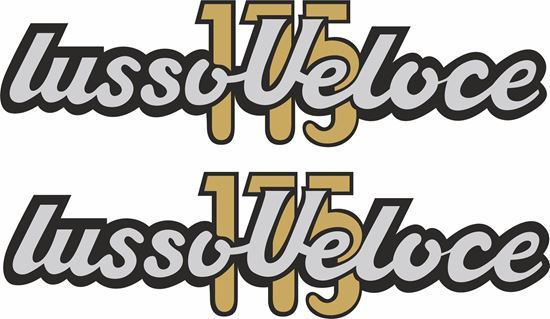 Picture of Parilla Lussoveloce replacement Decals / Stickers