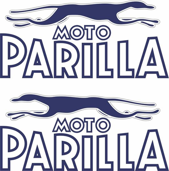 Picture of Moto Parilla Motorcycle Decals / Stickers