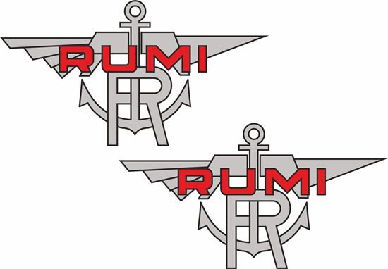Picture of Rumi Motorcycle Decals / Stickers