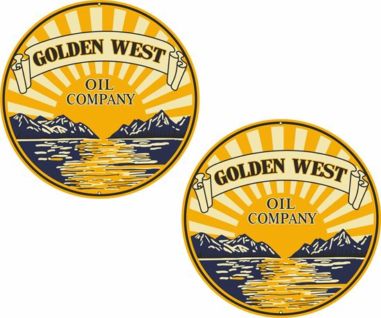Picture of Golden West Decals / Stickers