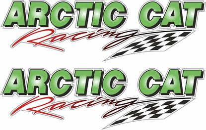 Picture of Artic Cat Racing Decals / Stickers