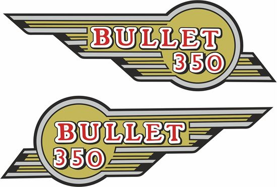 Picture of Bullet 350 Decals / Stickers