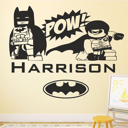 Picture of Lego Batman Wall Art sticker