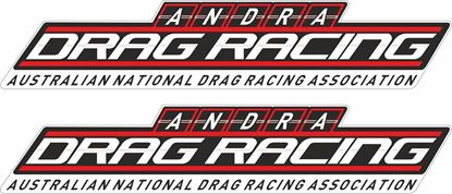Picture of Andra Drag Racing Decals / Stickers