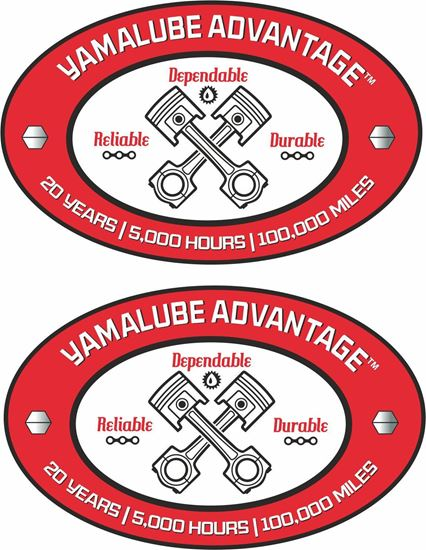 Picture of Yamalube Advantage Decals / Stickers
