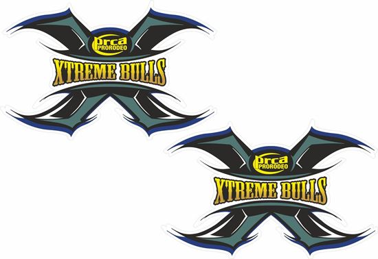 Picture of Xtreme Bulls Decals / Stickers