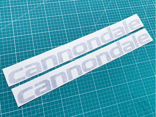 "Picture of Cannondale Frame Stickers 17.5"" x 2"""