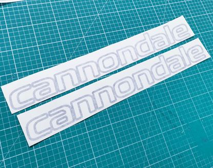 "Picture of Cannondale Frame Stickers 17.5"" x 2.1"""