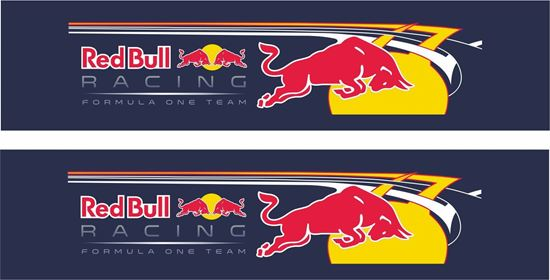"Picture of ""Red Bull Racing Team"" Decals / Stickers"