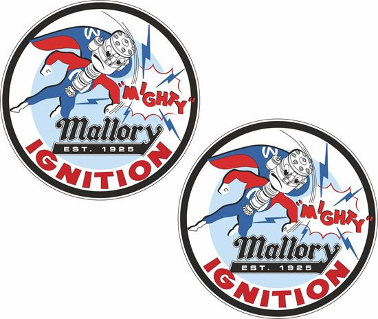 Picture of Mallory Ignition Decals / Stickers