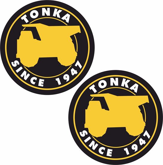 Picture of Tonka Since 1947 Decals / Stickers