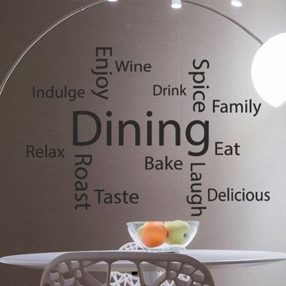 "Picture of ""Dining..""  Wall Art sticker"