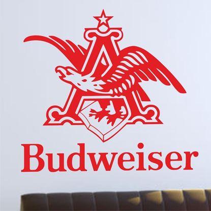 """Picture of """"Budweiser"""" Bar Wall Art sticker"""
