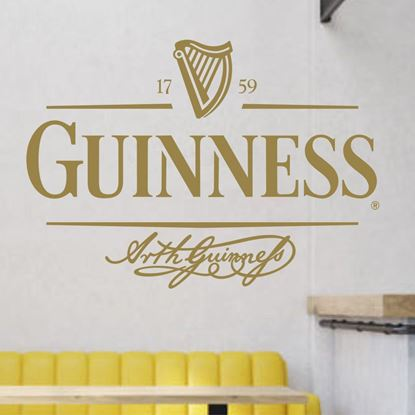"Picture of ""Guinness"" Bar Wall Art sticker"