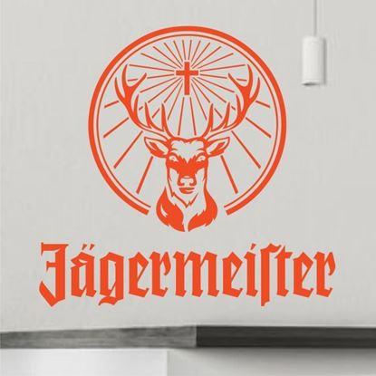 """Picture of """"Jagermeister"""" Bar Wall Art sticker"""