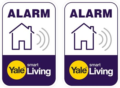 Picture of Yale Alarm Decals / Stickers
