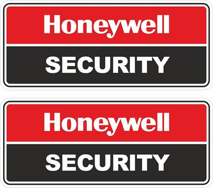 Picture of Honeywell Security Decals / Stickers