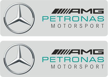 """Picture of """"AMG Patronas Motorsport"""" Decals / Stickers"""