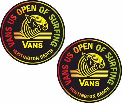 Picture of Vans US open Surfing Decals / Stickers
