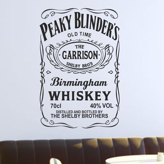 Picture of Peaky Blinders Wall Art sticker