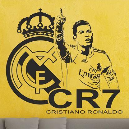 Picture of Christiano Ronaldo Wall Art sticker