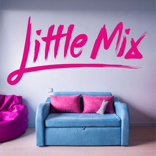 "Picture of ""Little Mix"" Wall Art sticker"