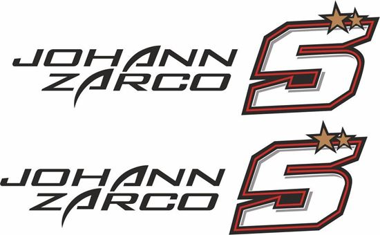 Picture of Johann Zarco Decals / Stickers