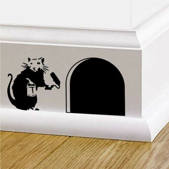 Picture of Banksy Rat  sticker