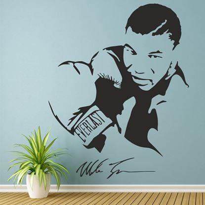 Picture of Mike Tyson Wall Art sticker