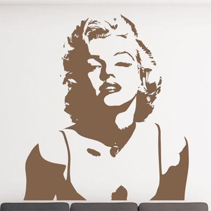 """Picture of """"Marilyn Monroe """"  Wall Art sticker"""