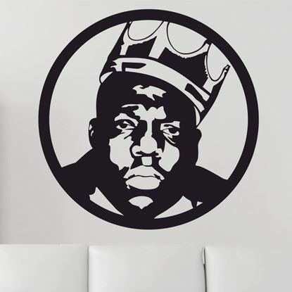 Picture of Biggie Small  Wall Art sticker