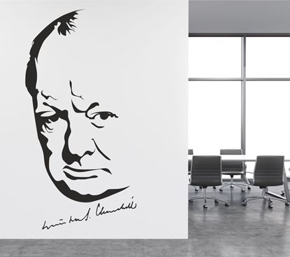 Picture of Winston Churchill Wall Art sticker