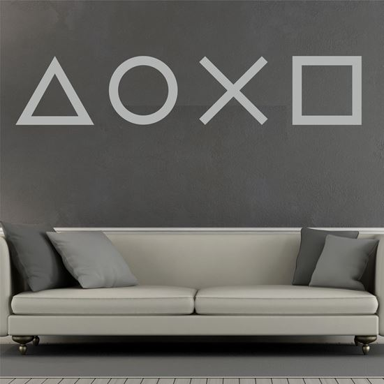Picture of Playstation Buttons Wall Art sticker