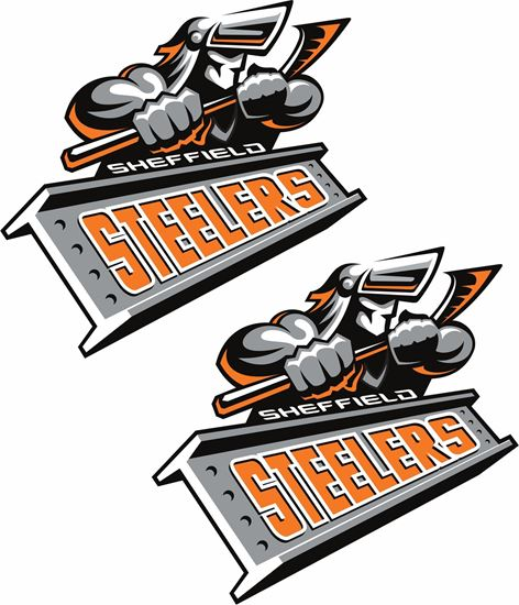 Picture of Sheffeld Steelers Decals / Stickers
