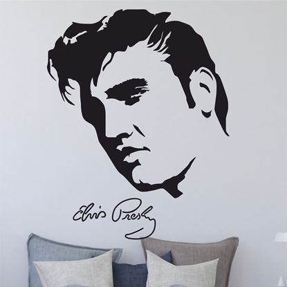 Picture of Elvis Presley  Wall Art sticker