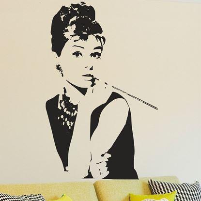 Picture of Audrey Hepburn   Wall Art sticker