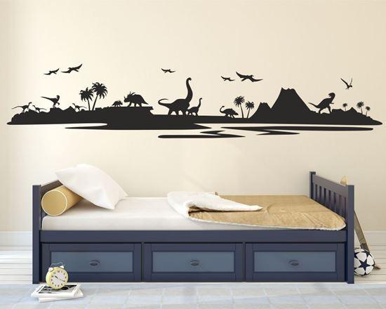 Picture of Dinosaur Land Wall Art sticker