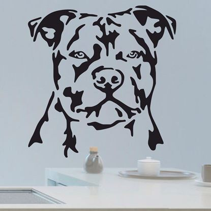 Picture of Staffordshire Bull Terrier Wall Art sticker