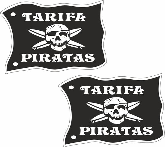 Picture of Tarifa Pirates Decals / Stickers