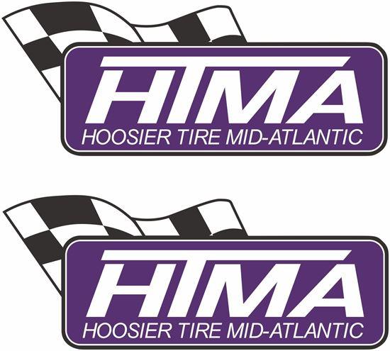 """Picture of """"Hoosier Racing Tire Mid-Atlantic"""" Decals / Stickers"""