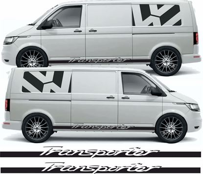 "Picture of VW T5 / T6 ""Transporter"" side Stripes / Stickers"