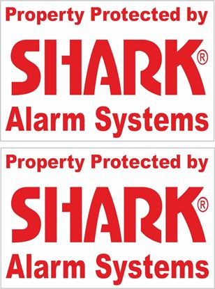 Picture of Shark Alarm Systems Decals / Stickers