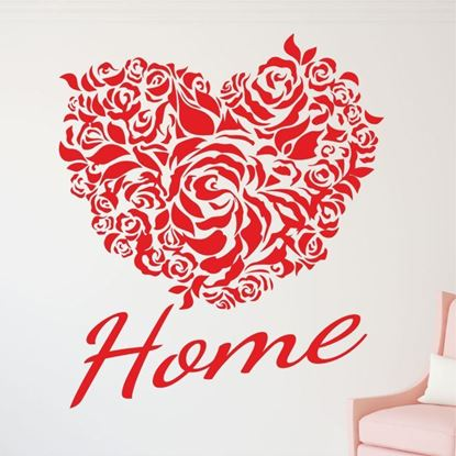 "Picture of ""Home"" Wall Art sticker"