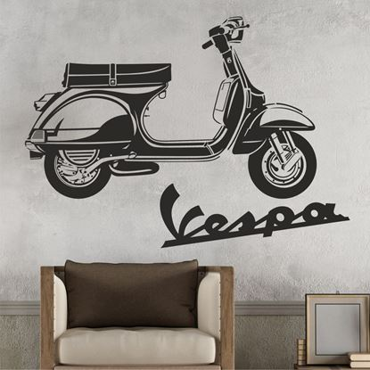 Picture of Vespa PX Wall Art sticker