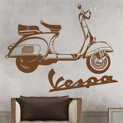 Picture of Vespa Wall Art sticker